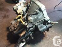 TRANSMISSION 5 VITESSES JDM HONDA CIVIC D15B VTEC