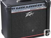 Marketing my Peavey Studio Pro 112. Barely utilized.