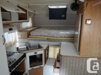 1994 Travel Mate Camper. No leaks. 3 burner stove, 3