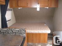 This compact 19 ft light trailer is perfect for a