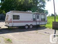 I am selling a Jayco Eagle travel trailer. I am asking