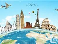 Book your travel with WestJet or Air Canada trips at