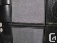 "2 TRAYNOR 15"" BASS CABS - EXCELLENT CONDITION COMES"