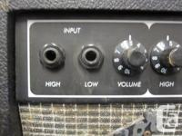 This is a used Traynor Bass mate 10 practice amp for