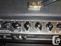 Traynor Custom Valve 80 YCV80 80Watt amplifier. Some