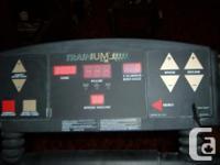 Tread Mill Exercise Machine. Bran Name Trainium. 120