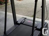 Treadmill 735 Pro-Form. Foldable convenient for