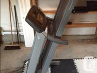 Treadmill: Tunturi T30 hydraulic folding bought new in