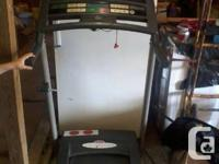 Weslo, Cadence J3.8 treadmill available for sale. Is in