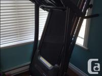 Horizon CT5.0 treadmill for sale. In good shape. Works