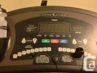 Vision Fitness T9200 treadmill for sale. This unit was
