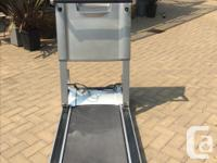 Lightly used treadmill. LED display. Built-in