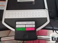 Healthrider treadmill. In new condition. It has been