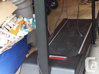 Electric Treadmill. Works Great. Has power incline and