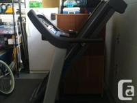 Horizon CT5.2 treadmill. Looked with low mileage.