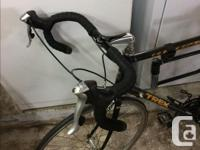 Trek 2100 Road Bike with composite frame. Ready for