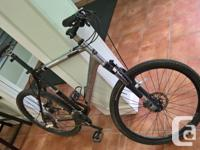 """24 speed, 22.5"""" or XL frame, suits someone 5'11"""" to"""