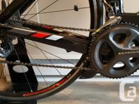 This TT bike was made to go fast, from its integrated
