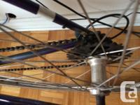 Hi Trek bike for sale in working condition, it has new