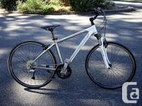 """Trek 7500 hybrid. 17.7"""" aluminum frame. 27 speed with"""