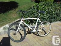 Mens mountain bike , used but maintained. First &100