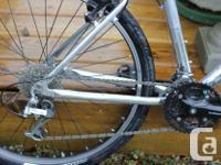 Trek hardtail bike in good condition, 18 inch frame