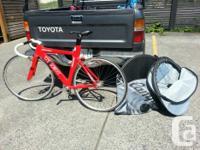 Trek Custom-built MediumTrack bike & extra wheels-