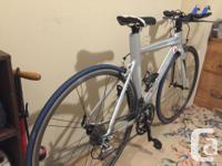 This triathlon bike is a Women's Specific design at