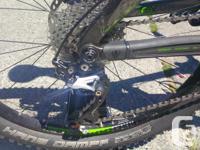 Bike ridden less than 10 times. As brand new. 18.5/17.5