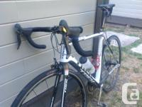 Carbon Trek Madone, Dura ace shifters and cranks,