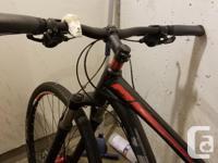 """Trek mountain bike. Men's medium 27.5"""" rims (650)"""