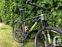 Carbon frame Carbon bar XT shifters, brakes and rear