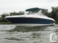 1996 Sea Ray Overnighter 230, No time for this