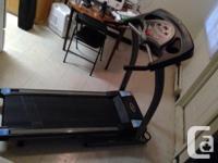 Treo 30750 Treadmill - Folds easily to decrease taking
