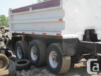 Tri Axel Dump Truck Trailer $12.000.00 text Lee