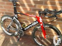 SHAVE MINUTES OFF YOUR TIME!  For Sale:  -2009 Cervelo