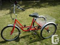 Adult size 3 wheeler trike.This is a Genesis adult