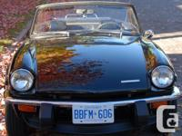 Make. TVR. Year. 1974. Colour. Black. kms. 73200.