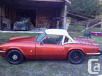 Make Triumph Colour copper Trans Manual kms 123 1979