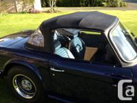 Make Triumph Model TR6 Year 1974 Colour Dark blue