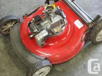 New parts include Carburetor , air-filter ,& spark plug