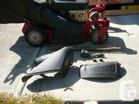 This mower is about 10 years old, works well, Kawasaki