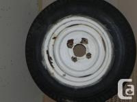"I have a 12"" trailer wheels available. Wheel is white"