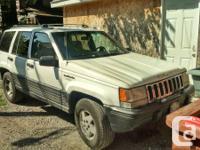 Ok so I've got a 1994 jeep marvelous Cherokee for sale