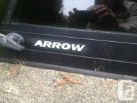 Like new condition black ARROW brand canopy with THULE