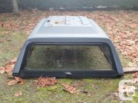 Fiberglas truck canopy For Sale. The canopy is in very