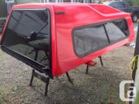 Truck canopy in excellent condition. Asking $250 obo.