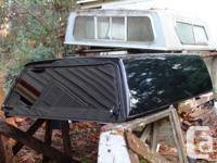 Colour. black. Leer truck canopy. Matches 2003 Chev S10