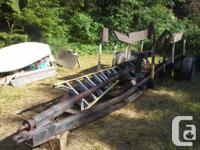 Customizeded trailer for sailboats ... up to 30 feet., used for sale  British Columbia