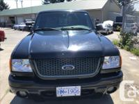 Make Ford Model Ranger Year 2001 Colour Black kms